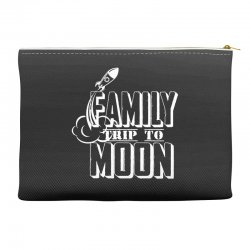 Family Trip To Moon Accessory Pouches | Artistshot