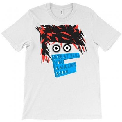 Awsome Design Animation Skin T-shirt Designed By Chimplocean | Artistshot