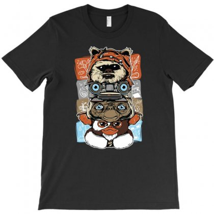 Movie Icon T-shirt Designed By Mdk Art