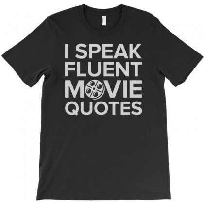 Movie Quotes T-shirt Designed By Mdk Art