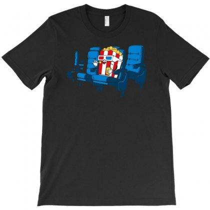Movie Time T-shirt Designed By Mdk Art