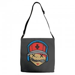 music boy Adjustable Strap Totes | Artistshot