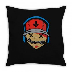 music boy Throw Pillow | Artistshot