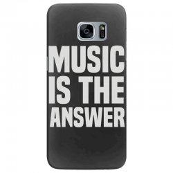 music is the answer Samsung Galaxy S7 Edge Case | Artistshot