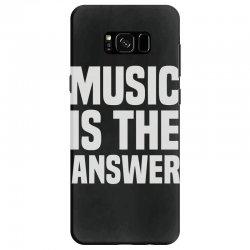 music is the answer Samsung Galaxy S8 Case   Artistshot