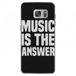 music is the answer Samsung Galaxy S7 Case | Artistshot