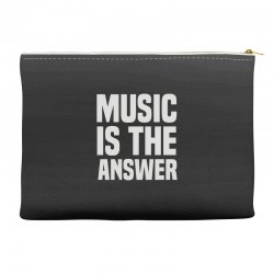 music is the answer Accessory Pouches | Artistshot