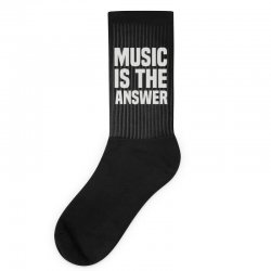 music is the answer Socks | Artistshot