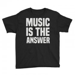 music is the answer Youth Tee | Artistshot