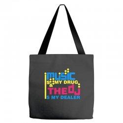 music is my drug Tote Bags | Artistshot