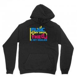 music is my drug Unisex Hoodie | Artistshot
