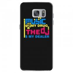 music is my drug Samsung Galaxy S7 Case | Artistshot