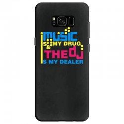 music is my drug Samsung Galaxy S8 Case | Artistshot