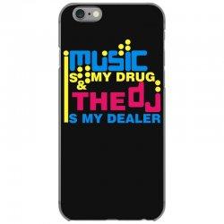 music is my drug iPhone 6/6s Case | Artistshot