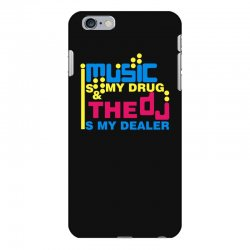 music is my drug iPhone 6 Plus/6s Plus Case | Artistshot
