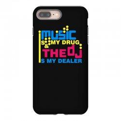 music is my drug iPhone 8 Plus Case | Artistshot