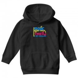 music is my drug Youth Hoodie | Artistshot