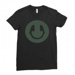 music smile Ladies Fitted T-Shirt | Artistshot