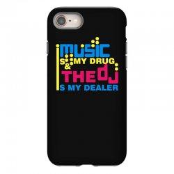 music is my drug iPhone 8 Case | Artistshot