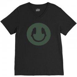 music smile V-Neck Tee | Artistshot