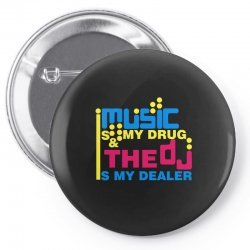 music is my drug Pin-back button | Artistshot