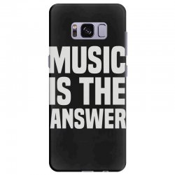 music is the answer Samsung Galaxy S8 Plus Case | Artistshot