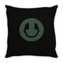 music smile Throw Pillow | Artistshot