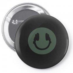 music smile Pin-back button | Artistshot