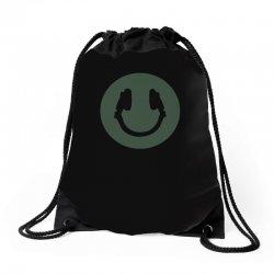 music smile Drawstring Bags | Artistshot