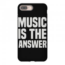 music is the answer iPhone 8 Plus Case | Artistshot