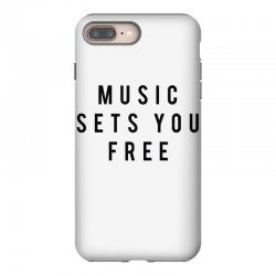 music sets you free iPhone 8 Plus Case | Artistshot