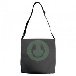 music smile Adjustable Strap Totes | Artistshot