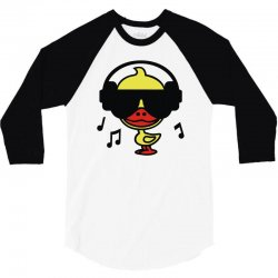 music duck 3/4 Sleeve Shirt | Artistshot