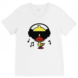 music duck V-Neck Tee | Artistshot