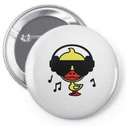 music duck Pin-back button | Artistshot
