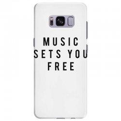 music sets you free Samsung Galaxy S8 Plus Case | Artistshot