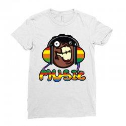 music Ladies Fitted T-Shirt | Artistshot