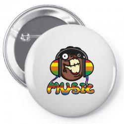 music Pin-back button | Artistshot