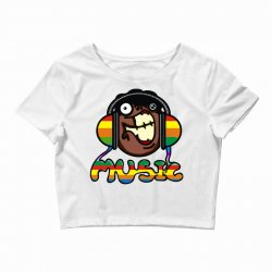 music Crop Top | Artistshot