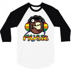 music 3/4 Sleeve Shirt | Artistshot