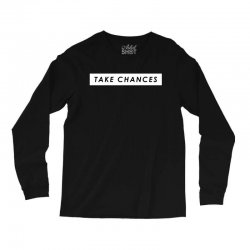 COLBY BROCK TAKE CHANCES Long Sleeve Shirts | Artistshot