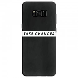 COLBY BROCK TAKE CHANCES Samsung Galaxy S8 Case | Artistshot