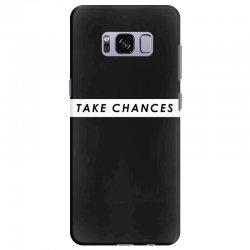 COLBY BROCK TAKE CHANCES Samsung Galaxy S8 Plus Case | Artistshot