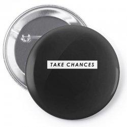 COLBY BROCK TAKE CHANCES Pin-back button | Artistshot
