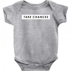 COLBY BROCK TAKE CHANCES Baby Bodysuit | Artistshot