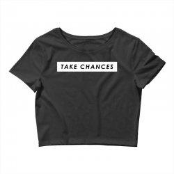 COLBY BROCK TAKE CHANCES Crop Top | Artistshot