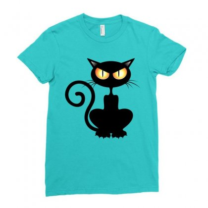 Halloween Ladies Fitted T-shirt Designed By Defit