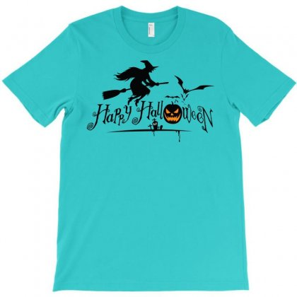 Happy Halloween T-shirt Designed By Defit