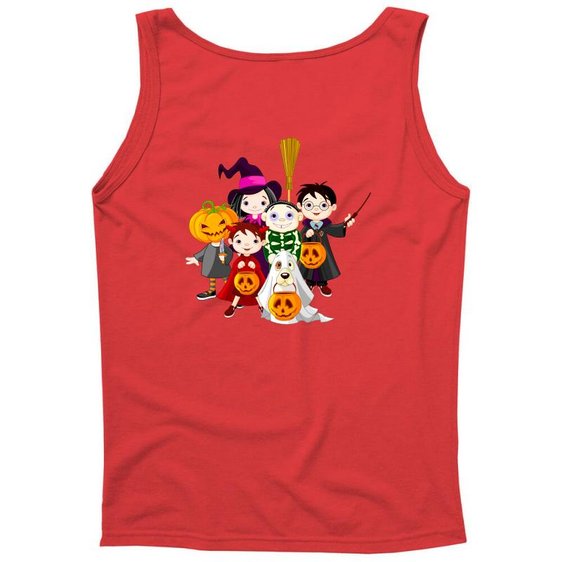 644de6a1d1829 Custom Halloween Kids Tank Top By Defit - Artistshot
