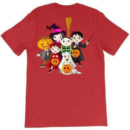 Halloween Kids T-shirt Designed By Defit